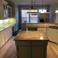 Kitchen Refinishing After Paint Ovations Plano Texas