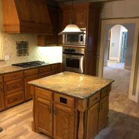 Kitchen Refinishing Before Paint Ovations Plano Texas