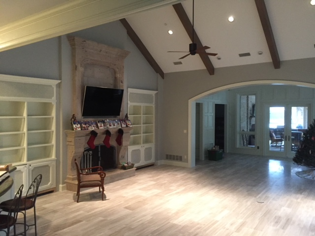 Paint Ovations 10,000 sf house interior painting Plano Texas