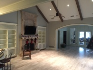 Large home family room house paint