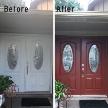 Exterior Painting Front Door Paint