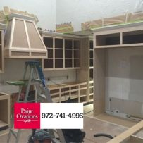 White Kitchen Cabinets Plano Texas Paint Ovations